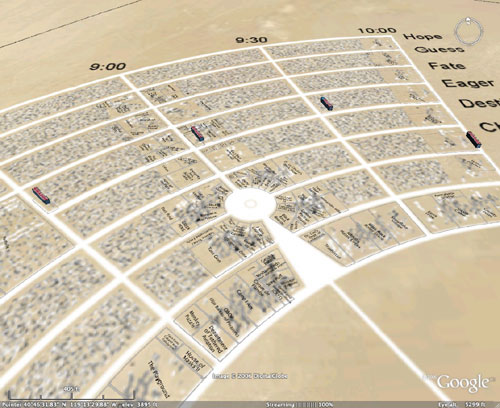 black rock city nevada map Black Rock City black rock city nevada map