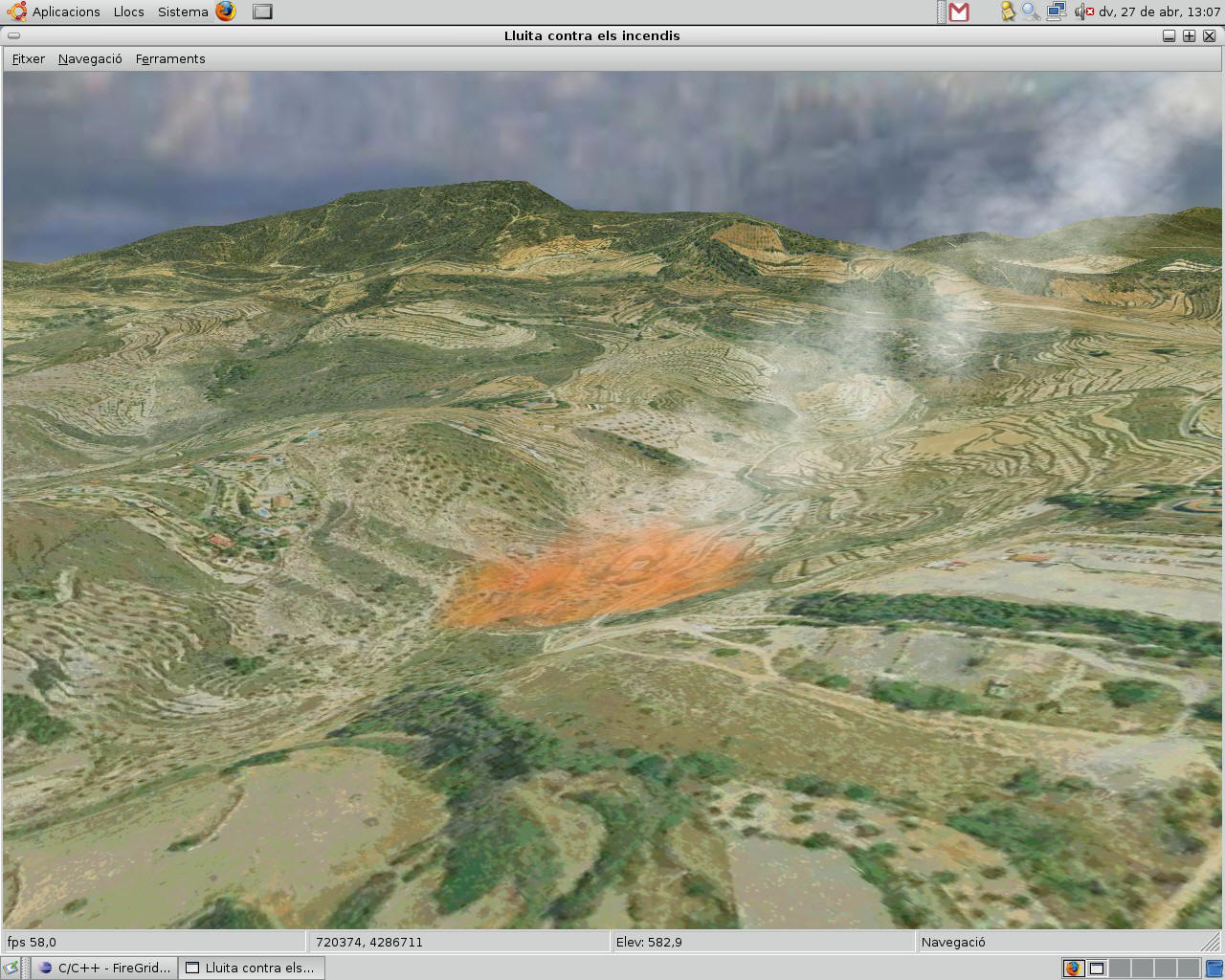 Virtual Terrain Project for Mac OS X and Linux full screenshot